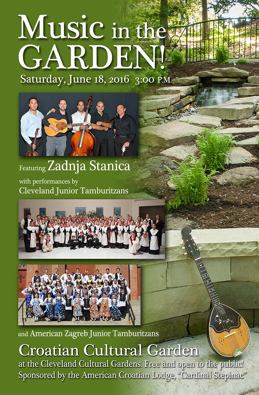 Garden Concert Poster